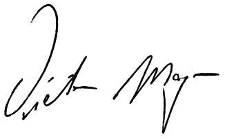 Dieter Mayer Signatur